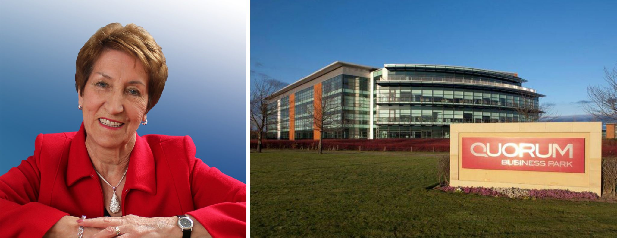 Quorum Business Park and Norma Redfearn CBE